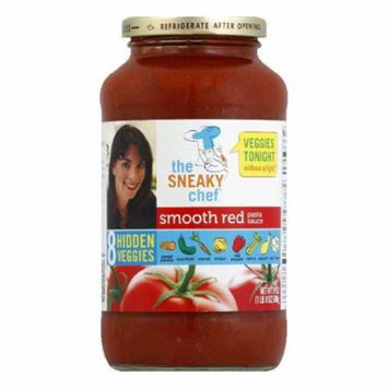 Sneaky Chef Smooth Red Pasta Sauce, 24 Oz (Pack of 6)