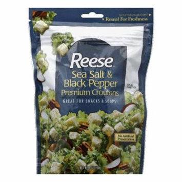 Reese Sea Salt & Black Pepper Crouton, 6 OZ (Pack of 12)