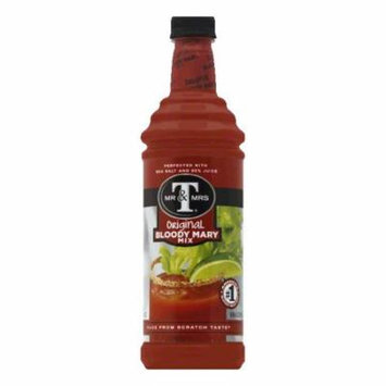 Mr. & Mrs. T Bloody Mary Mix, 33.8 OZ (Pack of 6)