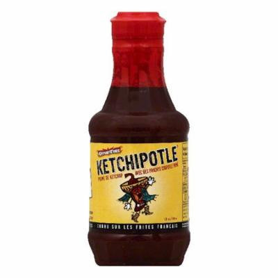 Ketch On Fire Ketchipotle, 18 OZ (Pack of 6)