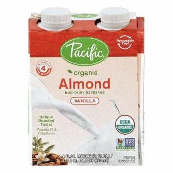 Pacific Vanilla Almond Non-Dairy Beverage, 4 ea (Pack of 6)