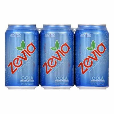 Zevia Natural Zero Calorie Cola, 72 FO (Pack of 4)