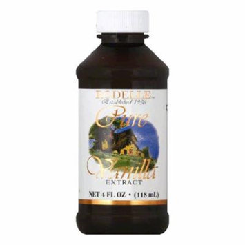 Rodelle Pure Vanilla Extract, 4 OZ (Pack of 6)