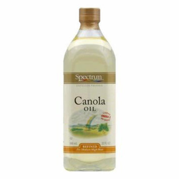 Spectrum Canola Oil Refined, 32 OZ (Pack of 6)