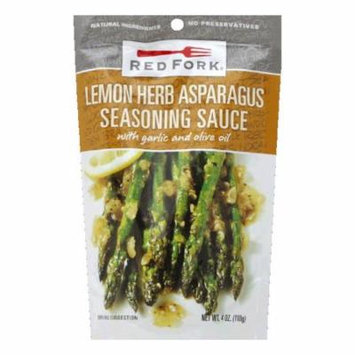 Red Fork Lemon & Herb Asparragus Seasoning Sauce, 4.5 OZ (Pack of 8)