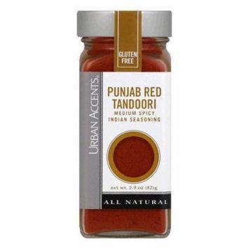 Urban Accents Punjab Red Tandoori Seasoning, 2.9 OZ (Pack of 4)