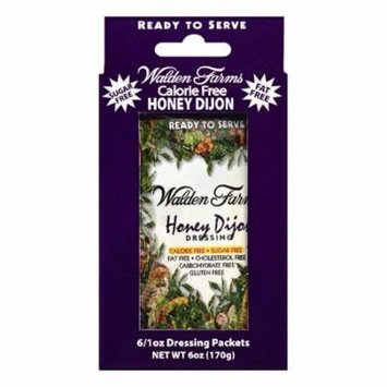 Walden Farms Packets Honey Dijon Dressing, 6 ea (Pack of 12)