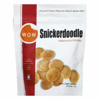 WOW Baking Bag Gluten Free Snickerdoodle Cookies, 8 OZ (Pack of 12)
