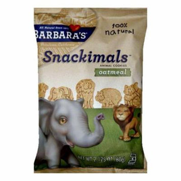 Barbara's Cookie Oatmeal Wheat Free Snackmals, 2 OZ (Pack of 18)