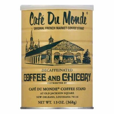 Cafe Du Monde Coffee Chicory Decaf, 13 OZ (Pack of 12)