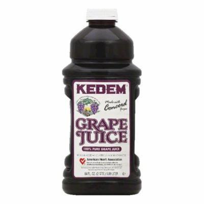 Kedem Pure Grape 100% Juice, 64 Fo (Pack of 8)