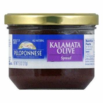 Peloponnese Olives Kalamata Olive Spread, 7.5 OZ (Pack of 6)