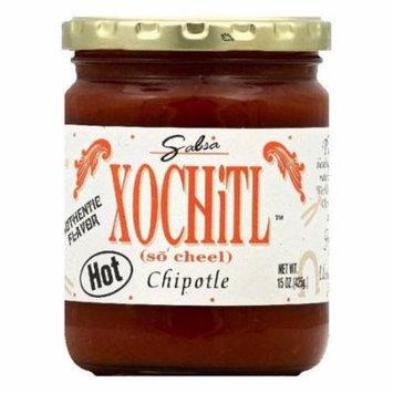 Xochitl Hot Chipotle Salsa, 15 OZ (Pack of 6)