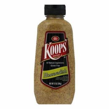 Koops Horseradish Squeeze, 12 OZ (Pack of 6)