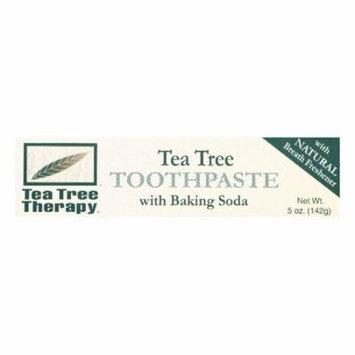 Tea Tree Therapy Tea Tree Toothpaste with Baking Soda, 5 OZ