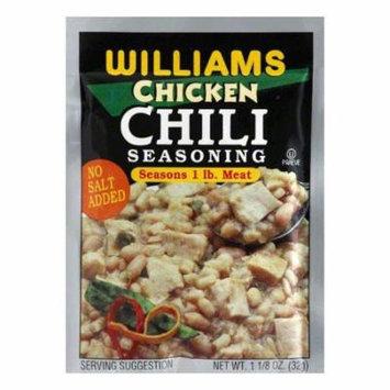 Williams Chili Seasoning White Chicken, 1.125 OZ (Pack of 24)