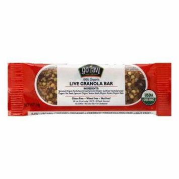 Go Raw 100% Organic Live Granola Bar, 0.49 Oz (Pack of 10)