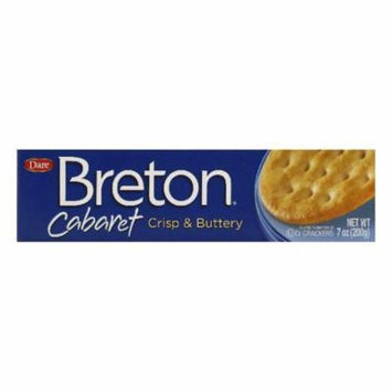 Cabaret crisp and buttery crackers, 7 oz, (pack of 12)