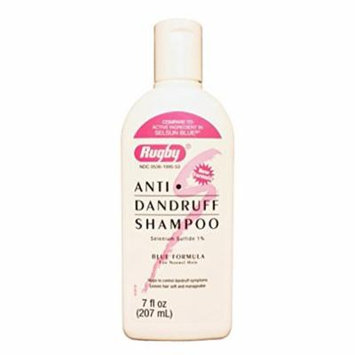 6 Pack - Rugby Selenium Sulfide Anti-Dandruff Shampoo 7oz Each