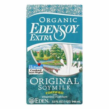 Eden Original Soymilk Extra Organic, 32 FO (Pack of 12)