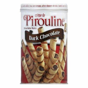 Debeukelaer Pirouline Double Chocolate Cream, 14 OZ (Pack of 6)