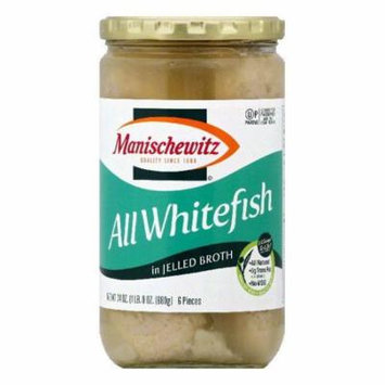 Manischewitz in Jelled Broth All Whitefish, 6 ea (Pack of 12)