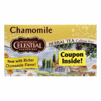Celestial Seasonings Herb Tea Chamomile, 20 BG (Pack of 6)
