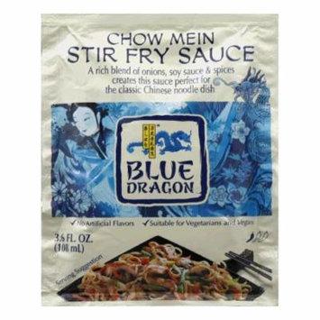 Blue Dragon Chow Mein Stir Fry Sauce, 3.6 Oz (Pack of 12)