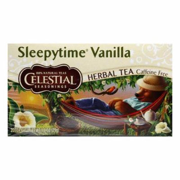 Celestial Seasonings Sleepytime Vanilla, 20 BG (Pack of 6)