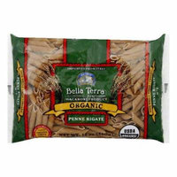 Bella Terra Pasta Penne Rigate Whole Wheat Organic, 12 OZ (Pack of 12)