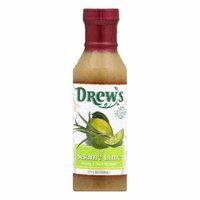 Drew's Dressing Thai Sesame Lime Low Carb, 12 OZ (Pack of 6)