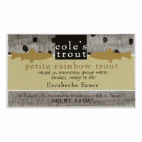 Cole's Trout in Escabeche, 3.2 OZ (Pack of 10)