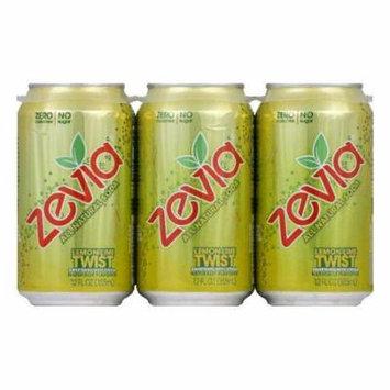 Zevia Natural Zero Calorie Lemon Lime Twist, 72 FO (Pack of 4)