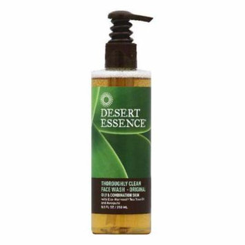 Desert Essence Oily & Combination Skin Original Thoroughly Clean Face Wash, 8.5 OZ