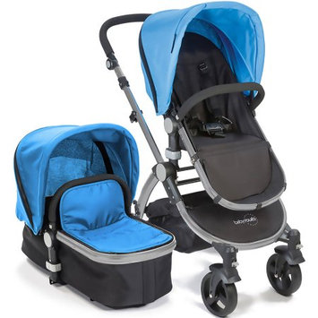 Baby Roues Canvas Collection Frosted Frame Baby le Tour II In Blue