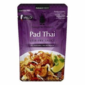 Passage Foods Pad Thai Stir-Fry Sauce, 7 OZ (Pack of 6)