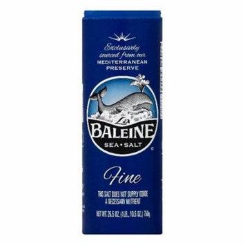 La Baleine Fine Sea Salt, 26.5 OZ (Pack of 12)