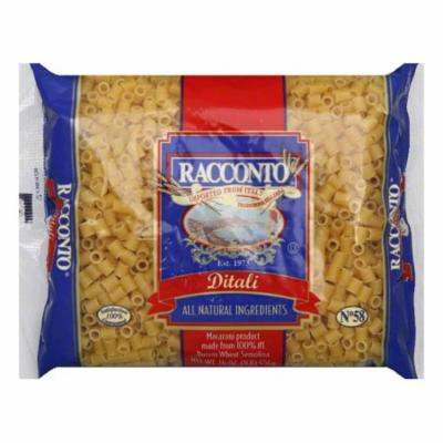 Racconto Ditali, 16 OZ (Pack of 20)