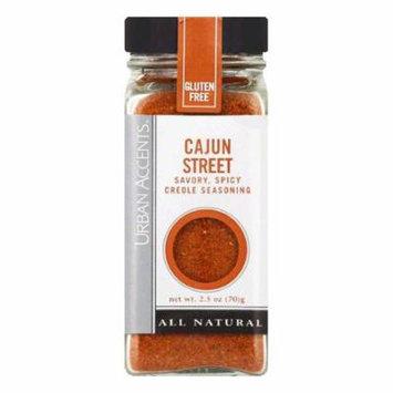 Urban Accents Cajun Street Seasoning, 2.5 OZ (Pack of 4)