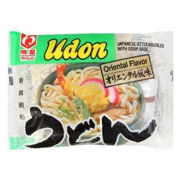 Myojo Udon Noodle Soup Mix Oriental, 7.22 OZ (Pack of 30)