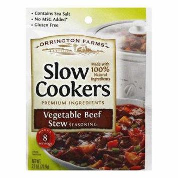 Orrington Farms Vegetable Beef Stew Slow Cookers Seasoning, 2.5 Oz (Pack of 12)