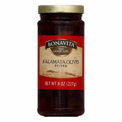Bonavita Kalamata Pitted Olive, 8 OZ (Pack of 6)