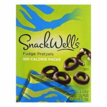Snack Wells Fudge Pretzels, 6 ea (Pack of 6)