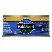 Wild Planet Low Mercury Wild Skipjack Tuna, 5 OZ (Pack of 12)
