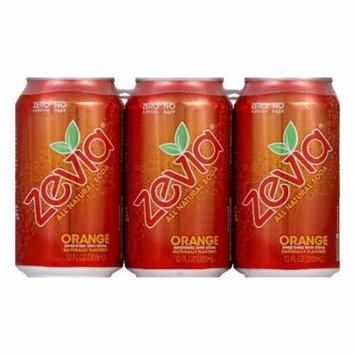 Zevia Natural Zero Calorie Orange, 72 FO (Pack of 4)