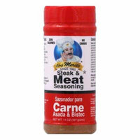 Chef Merito Carne Asada Seasoning, 14 OZ (Pack of 6)