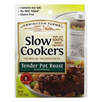 Orrington Farms Tender Pot Roast Slow Cookers Seasoning, 2.5 Oz (Pack of 12)