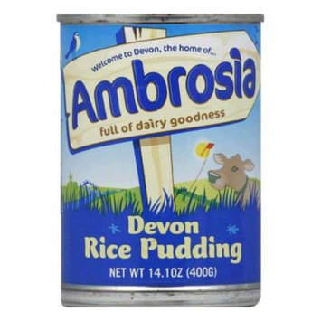 Ambrosia Devon Rice Pudding, 14.1 Oz (Pack of 12)