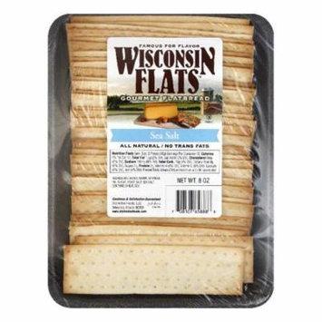 Wisconsin Flats Sea Salt Flatbread, 8 OZ (Pack of 10)