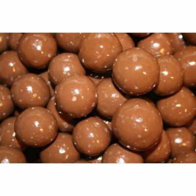 BAYSIDE CANDY CHOCOLATE MALT BALLS WITH SUGAR FREE COATING, 1LB